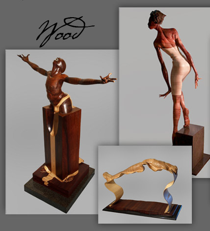 Sam Hinds Wood Sculptures