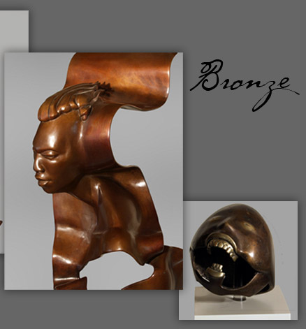 Sam Hinds Bronze Sculptures